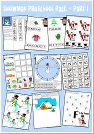free preschool winter worksheets u0026 printables