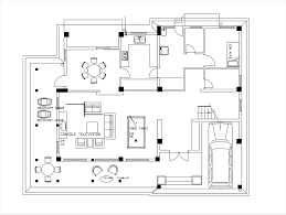 cad house plans pool table cad block