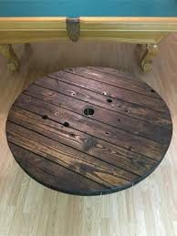 wooden spool coffee table for sale in dallas tx 5miles buy and