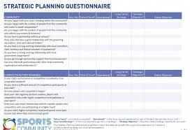 Strategic Planning Template Excel Strategic Planning Template Vnzgames