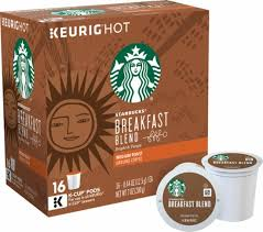Blend K Cups Keurig Starbucks Breakfast Blend Coffee K Cup Pods 16 Pack Multi