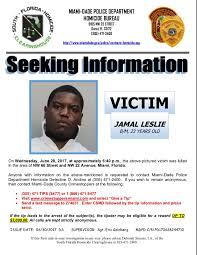 Seeking Miami Miami Dade On Seeking Information On 6 28 17
