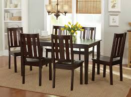Dining Room Table Set With Bench by Better Homes And Gardens 6 Piece Dining Set Mocha Beige Walmart Com