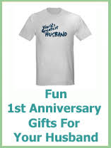 husband anniversary gift ideas best 1st wedding anniversary gifts