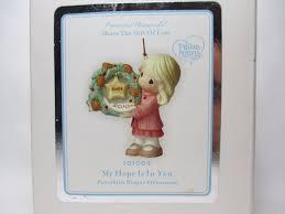 precious moments christmas ornament 22 listings