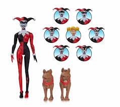 batman the animated series action figure harley quinn expressions