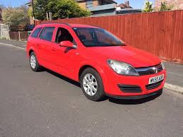 vauxhall red 2005 vauxhall astra club 1 6 petrol red estate in southampton