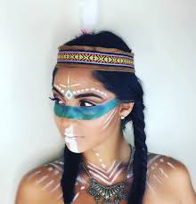 Indian Halloween Makeup Native American Makeup Makeupartist On Instagram