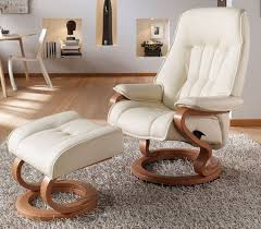 himolla elbe zerostress transitional recliner leather chair and
