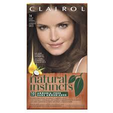 cool light brown hair color natural instincts non permanent color light cool brown 14 1