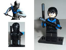nightwing from the game batman arkham city modified the u2026 flickr