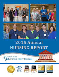 2015 kenmore mercy nursing annual report by catholic health issuu