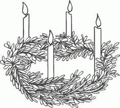 free printable advent wreath coloring pages coloring