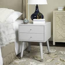 Silver Nightstands Fox6234c Nightstands Furniture By Nightstands Mid Century And