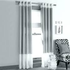 Gray And White Blackout Curtains Striped Blackout Curtains Moutard Co