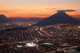 monterrey mexico scenery sunset in monterrey mexico south