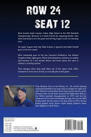 amazon com row 24 seat 12 9781622877911 greg sheehan books