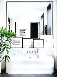 Framed Mirrors Bathroom Black Framed Mirrors Ikea Black Frame Around Bathroom Mirror Black