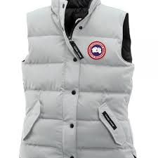 s canada goose freestyle vest silver birch order now
