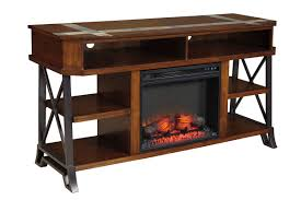 media stand with fireplace binhminh decoration