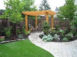 Inexpensive Backyard Landscaping Ideas Relaxing Backyard Landscaping Ideas Stunning Simple Backyard
