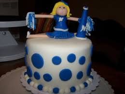 cheerleader cupcake tower topper cakecentral