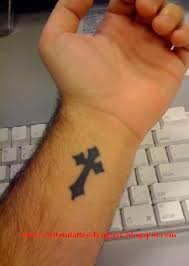 custom tattoo designs custom tattoo cross tattoos hand