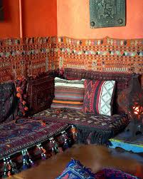 moroccan arabian floor seating not in morocco but the figueroa