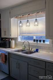 replace fluorescent light fixture in kitchen lights for over kitchen sink kenangorgun com