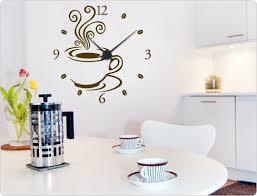 wandtattoo designer wandtattoo uhr kaffee design i wandtattoo de