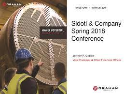Seeking Graham Graham Ghm Presents At Sidoti Company 2018 Conference