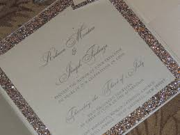 glitter wedding invitations glitter wedding invitation sparkle wedding invitation
