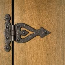 solid bronze decorative hinge hardware
