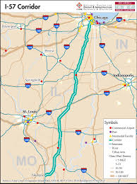 Map To Chicago by I 57 U2014 Mid America Freight Coalition
