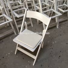white wedding chairs padded resin folding chair for outdoor party wedding use buy