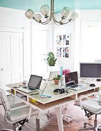 top 10 design bloggers u0027 most inspiring offices workspaces blue