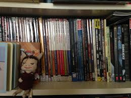 Batman Bookcase What Does The Bookworm Say Bookshelf Tour Nite Lite Book Reviews