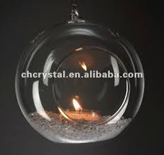 4 dia hanging glass globe terrarium ornament decorative glass