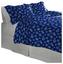 Flannel Duvet Covers Pointehaven 175 Gsm Cotton Flannel Duvet Set Contemporary