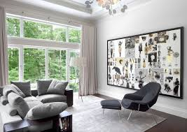 interior design color schemes black and white unique display in frame near black lounge chair interior interior design color schemes