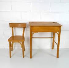 le bureau enfant baumann grand bureau enfant la marelle mobilier vintage pour