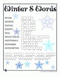 winter word puzzle u0026 compound words vocabulary worksheets woo