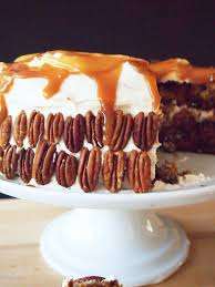 salted caramel carrot cake pies and plots
