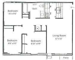 floor plan 3 bedroom house simple 3 bedroom house plans stunning one story 3 bedroom 2 bath
