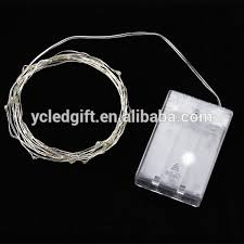 ultra thin wire led lights ultra thin aa battery powered micro silver copper wire led christmas