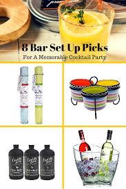 8 bar set up picks for a memorable cocktail party martha stewart
