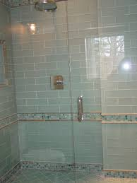 glass shower tile white mini glass subway tile shower walls subway