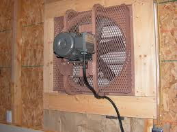wall exhaust fan for garage bathroom a guide to installing wall