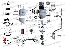 lexus rx300 exhaust diagram atv wiring kit gy cc atv quad buggy carby carburetor wire harness