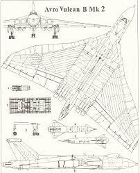 avro vulcan blueprint download free blueprint for 3d modeling
